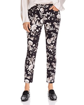 7 For All Mankind - Skinny Ankle Jeans in Frontier Floral