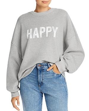 Cinq À Sept T-shirts CINQ A SEPT HAPPY DOLMAN SWEATSHIRT