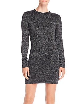 PAM & GELA - Metallic Sweater Dress