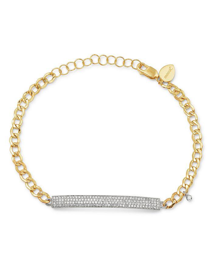 Meira T 14k Yellow White Gold Diamond