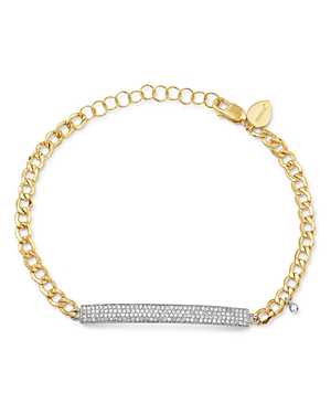 Meira T 14K Yellow & White Gold Diamond Bar Bracelet-Jewelry & Accessories