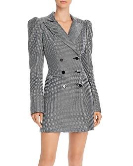 Jill Jill Stuart - Checkered Tuxedo Dress