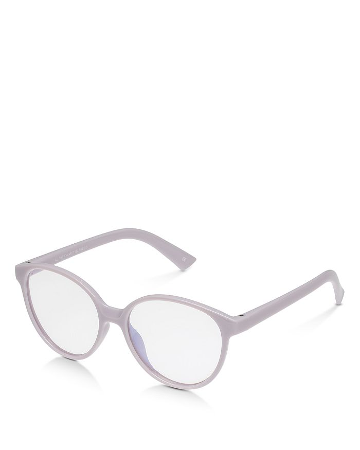 The Book Club - Women's Al The Chemist Round Blue Light Glasses, 52mm