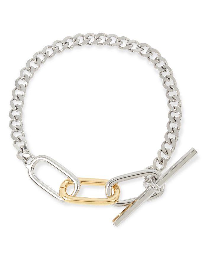 ALLSAINTS - Two-Tone Link Toggle Bracelet