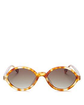 Le Specs Luxe - Women's Impromptu Round Sunglasses, 54mm