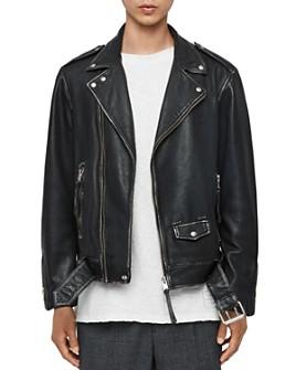 ALLSAINTS - Hawley Leather Biker Jacket