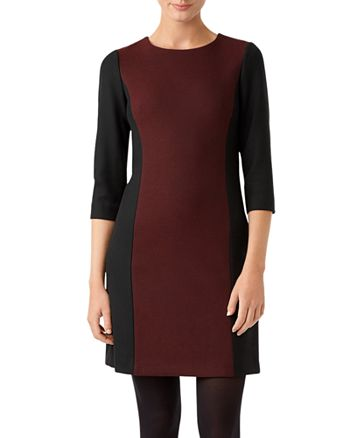 HOBBS LONDON - Gracie Color-Block Sheath Dress