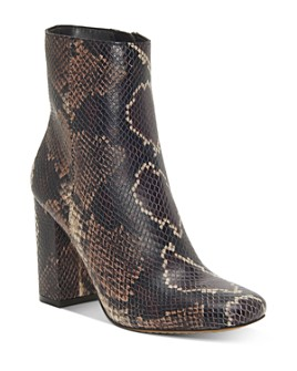 VINCE CAMUTO - Women's Dannia Square-Toe Booties