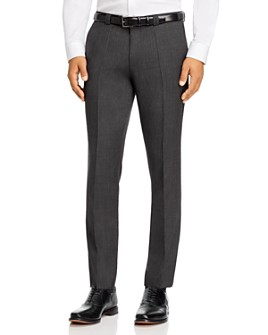 HUGO - Hesten Birdseye Extra Slim Fit Suit Pants