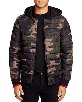 GUESS - Puffer Regular Fit Bomber Jacket