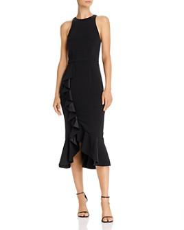 LIKELY - Tay Ruffled Midi Dress