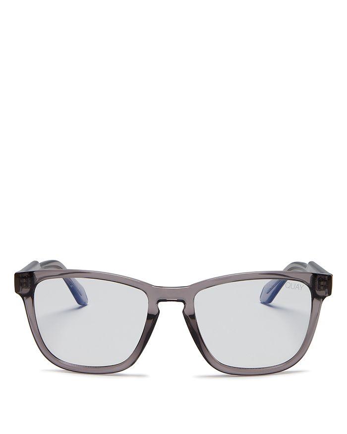 Quay - Unisex  x Chrissy Teigen Hardwire Square Blue Light Glasses, 55mm