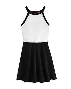 Aqua Girls' Lace-Bodice Dress, Big Kid - 100% Exclusive