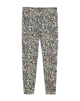 Mini Series - Girls' Animal Print Leggings, Little Kid - 100% Exclusive