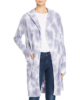 Theo & Spence - Yummy Tie-Dye Hooded Cardigan