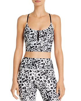 Urban Savage - Scalloped Leopard Print Cropped Top