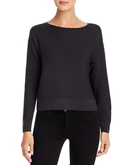 Eileen Fisher - Cropped Boat-Neck Sweater