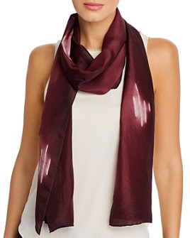 Eileen Fisher - Patterned Silk Scarf