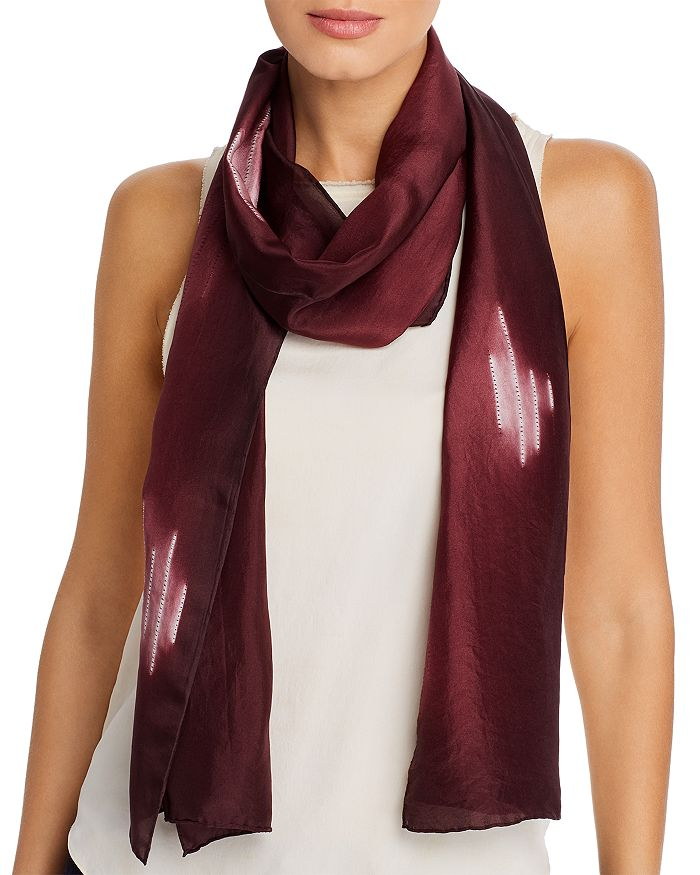 Eileen Fisher - Patterned Silk Scarf