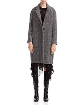 Maje - Gedeon Herringbone Coat