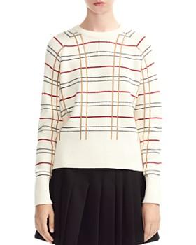 Maje - Majeur Plaid Sweater