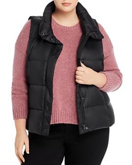 Eileen Fisher Plus - Down Puffer Vest