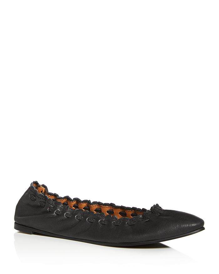 See by Chloé - Women's Pointed-Toe Ballet Flats