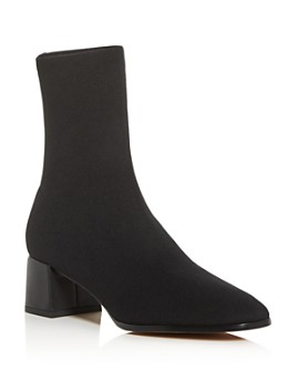 Via Spiga - Women's Sienna Square-Toe Knit Boots