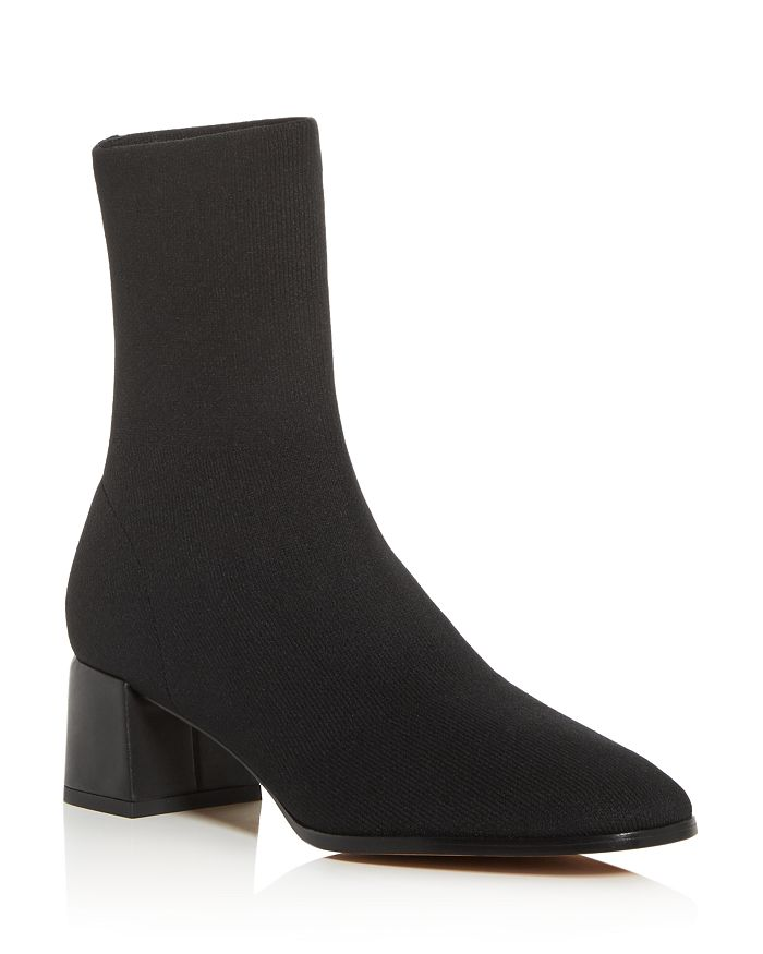 Via Spiga - Women's Sienna Square-Toe Knit Boots