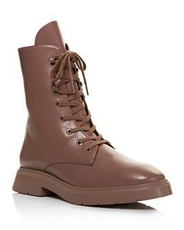Stuart Weitzman - Women's McKenzee Lace-Up Boots