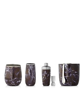S'well - Black Marble Barware