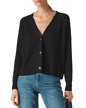 Whistles Button Front Recycled Cardigan-Women