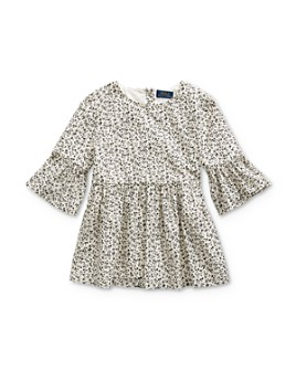 Ralph Lauren - Girls' Floral Bell-Sleeve Top - Big Kid