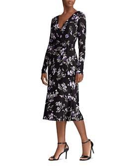 Ralph Lauren - Floral-Print Wrap Dress
