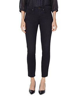 NYDJ - Ami Embroidered Skinny Jeans in Dawner