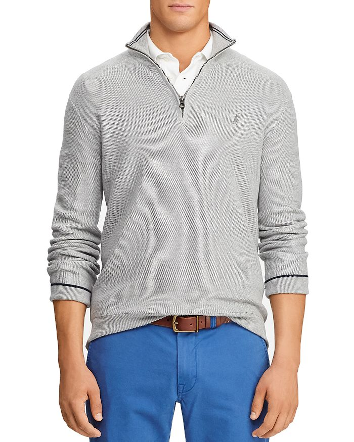 Polo Ralph Lauren - Cotton Quarter-Zip Sweater