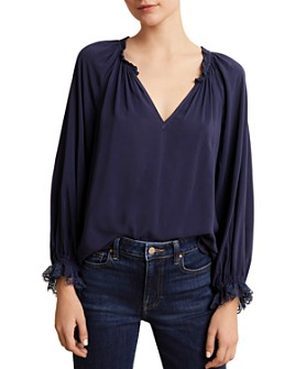 Velvet by Graham & Spencer - Madilyn Lace-Cuff Top