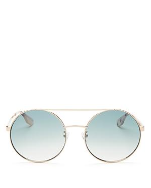 Women's Brow Bar Round Sunglasses