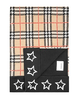 Burberry - Girls' Check And Stars Scarf