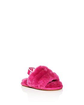 UGG® - Girls' Fluff Yeah Slide Shearling Slippers - Baby, Toddler