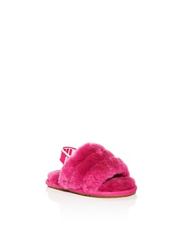 UGG® - Girls' Fluff Yeah Slide Shearling Slippers - Infant, Toddler