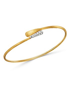 Marco Bicego - 18K Yellow & White Gold Lucia Diamond Bangle Bracelet