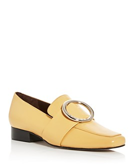Dorateymur - Women's Harput Square Apron-Toe Loafers