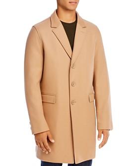 Herno - Diagonal Wool Coat