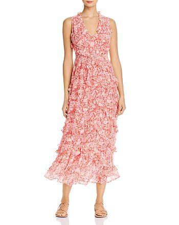 Banjanan - Gizela Ruffled Floral-Print Maxi Dress