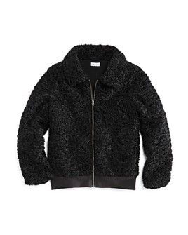 Splendid - Girls' Faux Fur Textured Jacket - Big Kid