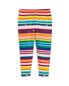 Isaac Mizrahi Loves Sesame Street - Girls' Striped Leggings, Baby, Little Kid - 100% Exclusive