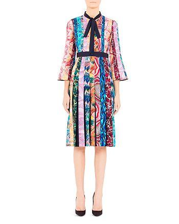 Mary Katrantzou - Desmine Pleated Multicolor Midi Dress