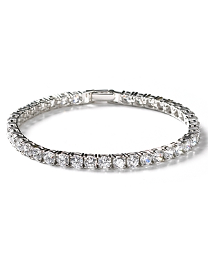 Crislu Round Stone Tennis Bracelet