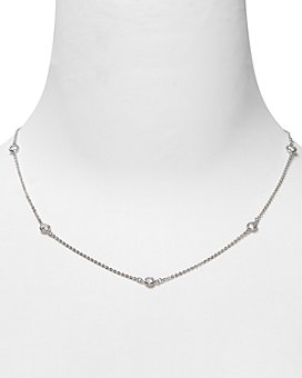 Crislu - Station Chain Necklace, 16""